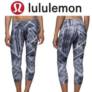 ❤️ Lululemon Wunder Under Crop II *Full-On Luon 8